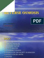 OMC Reverse Osmosis