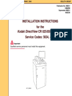 Kodak DirectView CR-825,850 - Installation instructions.pdf