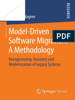 Christian Wagner - Model-Driven Software Migration A Methodology Reengineering, Recovery and Modernization of Legacy Systems