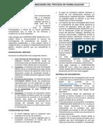 TERMINOS Y CONDICIONES DEL PROCESO DE HOMOLOGACION - Escenario 01