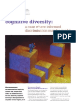 Case for Cognitive Discrimination Ed Bernacki