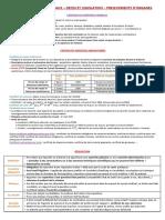009 Certificats médicaux - Décès et législation - Prélèvements - organes et législation
