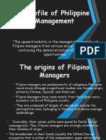 A Profile of Philippine Management - BUSPOL Case Study