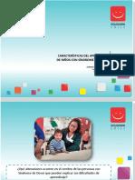 2. Caracteristicas del Aprendizaje en niños con Sindrome de Down