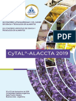 resumenes Congreso CyTAL-ALACCTA 2019