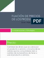 1.6 FIJACION DE PRECIOS