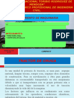RENDIMIENTO DE TRACTOR DE ORUGA Y CARGADOR FRONTAL.pptx