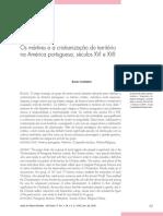 CYMBALISTA, Renato. Os mártires e a cristianização do território na América portuguesa