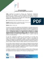 Medidas para la prevención del covid-19 (coronavirus) en el manejo de transporte público y privado
