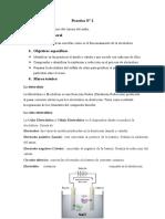 Electrolisis del cloruro de sodio