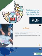 E-Core - Treinamento Go - Slides