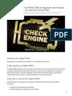 pt.vermin-club.org-Código de Problema P0092 OBD-II Regulador de Pressão de Combustível 1 Circuito de Controle Alto