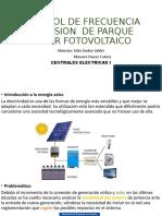 Control de tensión y frecuencia- Central solar fotovoltaica -1.pptx