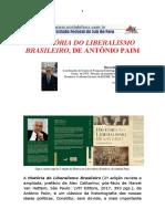 A HISTÓRIA DO LIBERALISMO BRASILEIRO