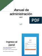 Manual MDT