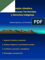 Presentación de Roberto Espinoza