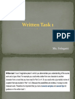 Written Task 1