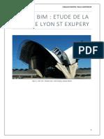 BIM Gare St Exupéry, Lyon
