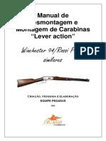 Manual de Desmont. e Mont. Rossi Puma e Win.94