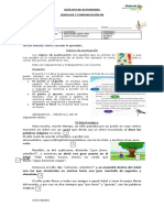 Guía nº2, puntuación, comprensión lectora cuento