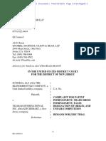 Sundesa v. Tejarah Int'l - Complaint