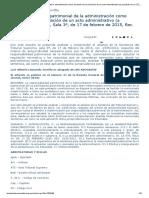 La responsabilidad patrimonial de la administración como resultado de la anulación de un acto administrativo (a propósito de la STS, Sala 3ª, de 17 de febrero de 2015, Rec. 2335_2012)