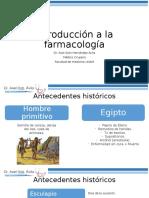 Introducción a farmacologia