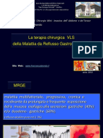 La terapia chirurgica VLS della MRGE