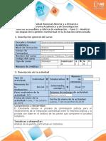 Guía de Actividades y Rúbrica de Evaluación - Fase 3 -Analizar las etapas de la gestión contractual en la licitación seleccionada