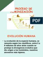 HOMINIZACIÓN 3RO.ppt