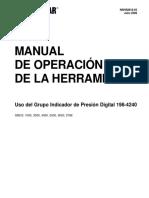Medidor de Presion Digital NSHS0818
