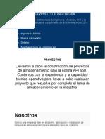 DESARROLLO DE INGENIERÍA