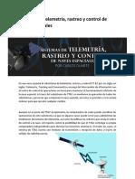 Sistemas de telemetría de naves espaciales