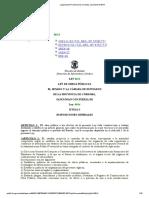 Legislación Provincial de Córdoba_ Ley Número 8614