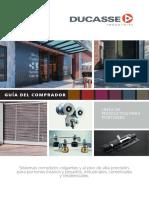 Catálago Ducasse Industrial - Línea de Productos para Portones