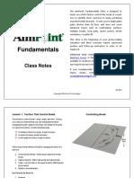 Class Notes-Fundamentals