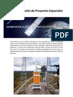 Administración de Proyectos Espaciales