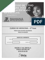 Vestibular Bahiana de Medicina 2018.2 2 Fase