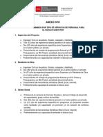2 ANEXO 01 - REQUISITOS MINIMOS POR TIPO DE SERVICIOS