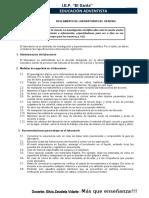 Reglamento de laboratorio AEACOP