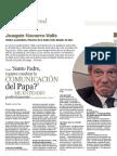 Entrevista a Joaquin Navarro-Valls