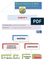 CLASE 3. QUIMICA 2019 I