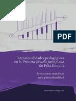 Intencionalidades pedagógicas en la primera escuela para piano de Fritz Emonts. Activaciones semióticas en la pluriculturalidad.