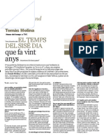 Entrevista a Tomàs Molina