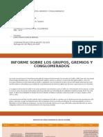 INFORME SOBRE LOS GRUPOS, GREMIOS Y CONGLOMERADOS.pptx