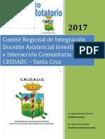 REGLAMENTO INTERNADO ROTATORIO 2017 - CRIDAIIC