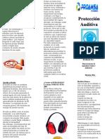 PROTECCION AUDITIVA MEDIDAS BASICAS