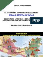 Astronomía en América