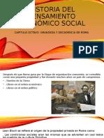 Historia del pensamiento económico social