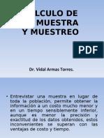 CALCULO DE LA MUESTRA y muestreo.ppt